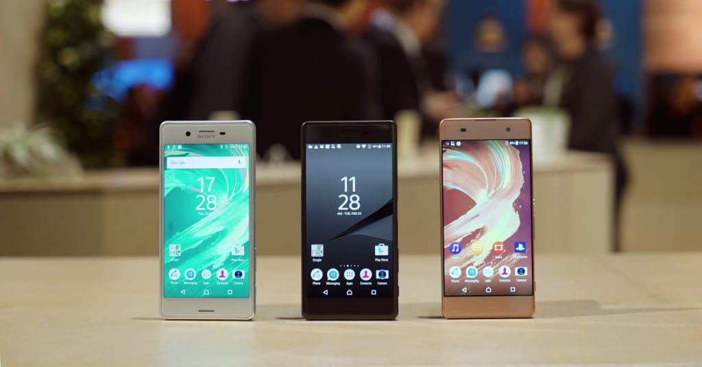 Sony's new Xperia X line doesn't aim for the top, but are interesting nonetheless