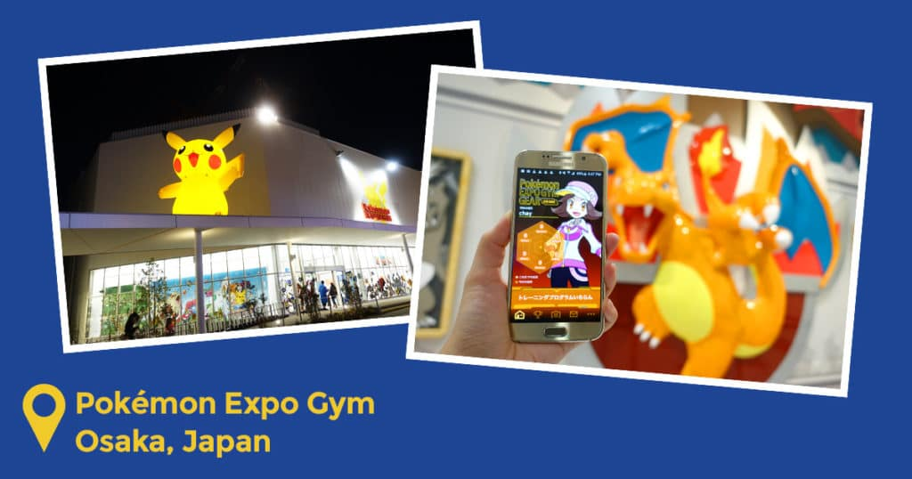 Pokémon Expo Gym in Osaka, Japan