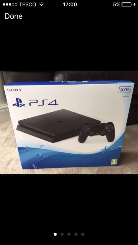 sony ps4 slim d