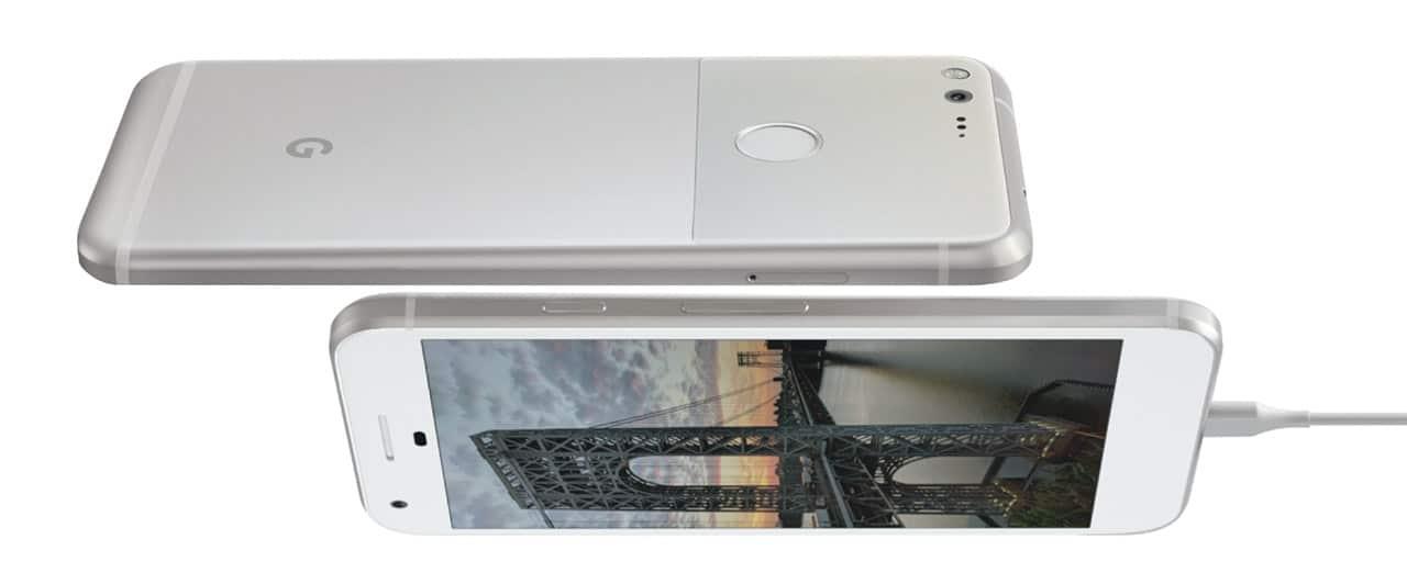Google Pixel angles