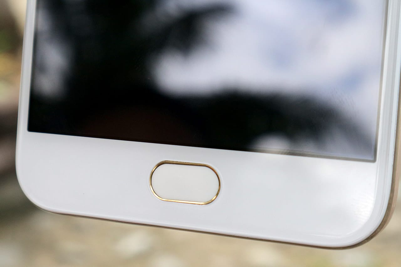 OPPO F1s home button