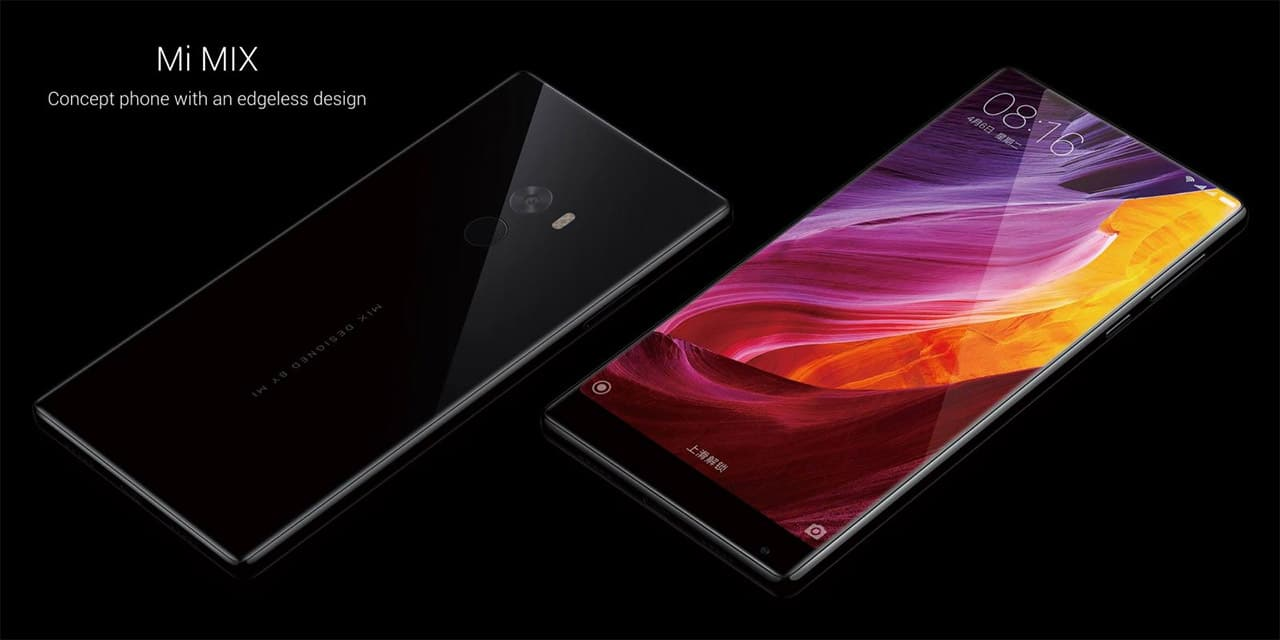 Xiaomi Mi Mix front and back