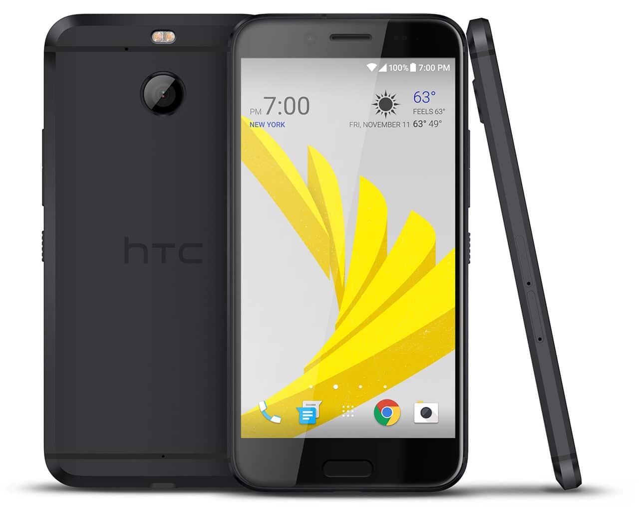 HTC Bolt in gunmetal
