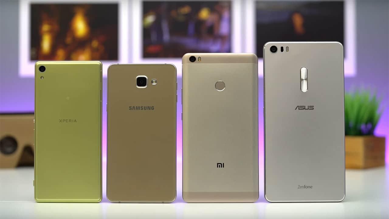 Supersized smartphone showdown