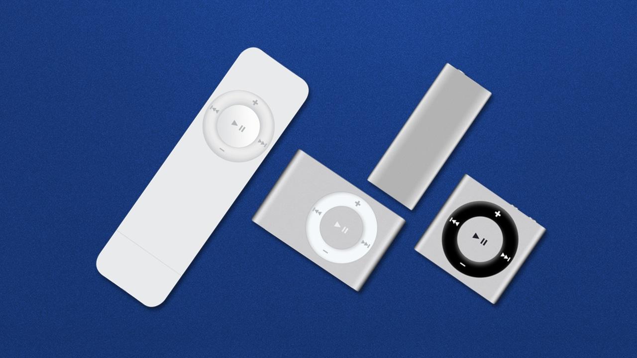 iPod shuffle models