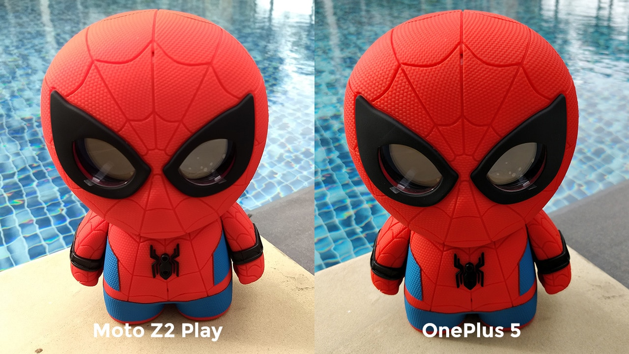 Moto Z2 Play vs One Plus 5