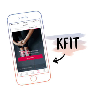 Fitness app KFit!