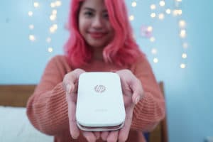 The HP The HP Sprocket fits perfectly in your hands