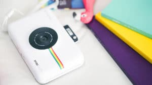 The Polaroid Snap Touch is a digital camera that prints pictures