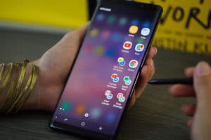 All app possibilities on the Samsung Galaxy Note 8's dual app launch