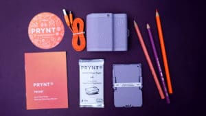 What's inside the Prynt Pocket box