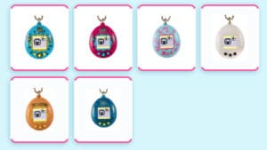 Tamagotchi is back in 6 styles