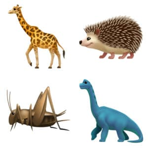 animal Emojis come to Apple iOS 11.1