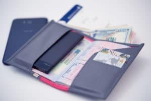 ASUS ZenPower Slim in my passport holder