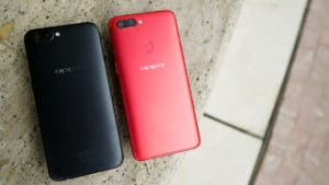 OPPO R11s side by side with the OPPO R11