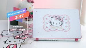 Hello Kitty Acer laptop