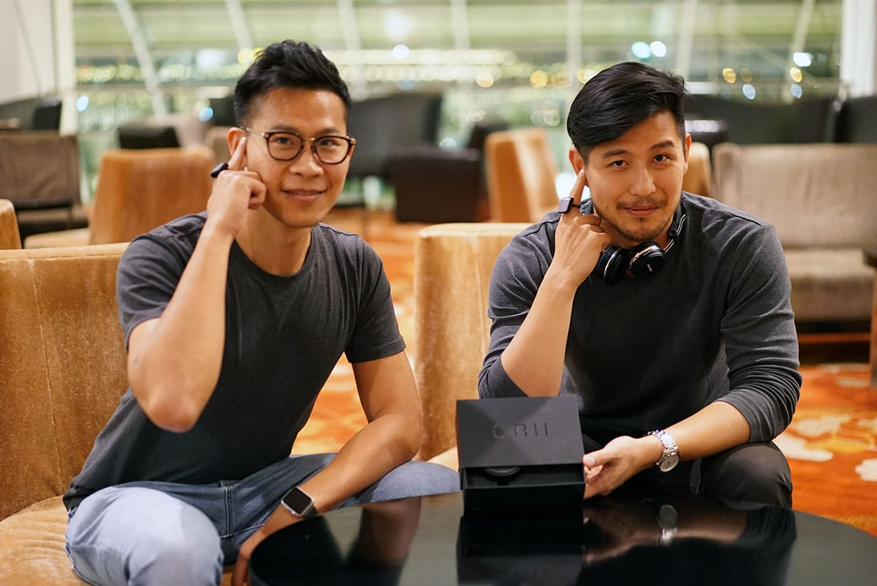 ORII Ring Co-Founders Emile Chan and Kevin Wong