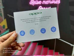 OPPO pop up Singapore