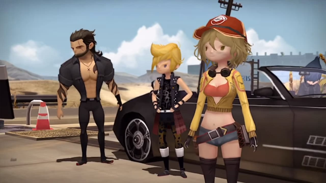 Final Fantasy XV: Pocket Edition is for fans with no time ...