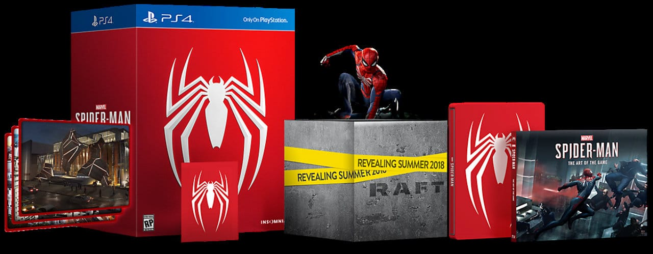 Spider-Man PS4 Collector's Edition