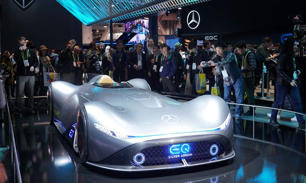 Mercedes Futuristic Car Pays Homage To The Historic Silver Arrows Gadgetmatch