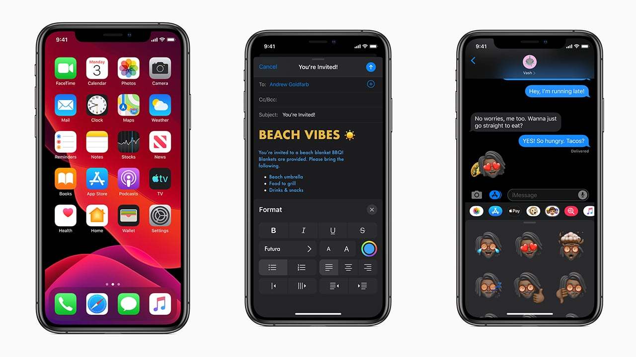 Ios 13 Goes Official With Dark Mode Newer Apps And Faster