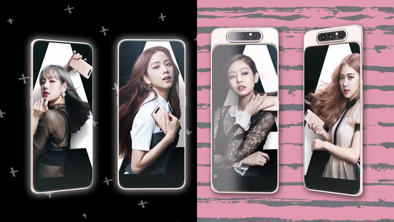 Samsung Reveals A Special Blackpink Edition Of The Galaxy A80 Gadgetmatch