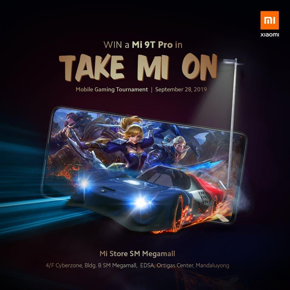 Take Mi On promo poster