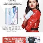 V17 Pro Offline Pre-order Poster