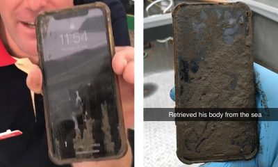 iPhone X survives six days underwater