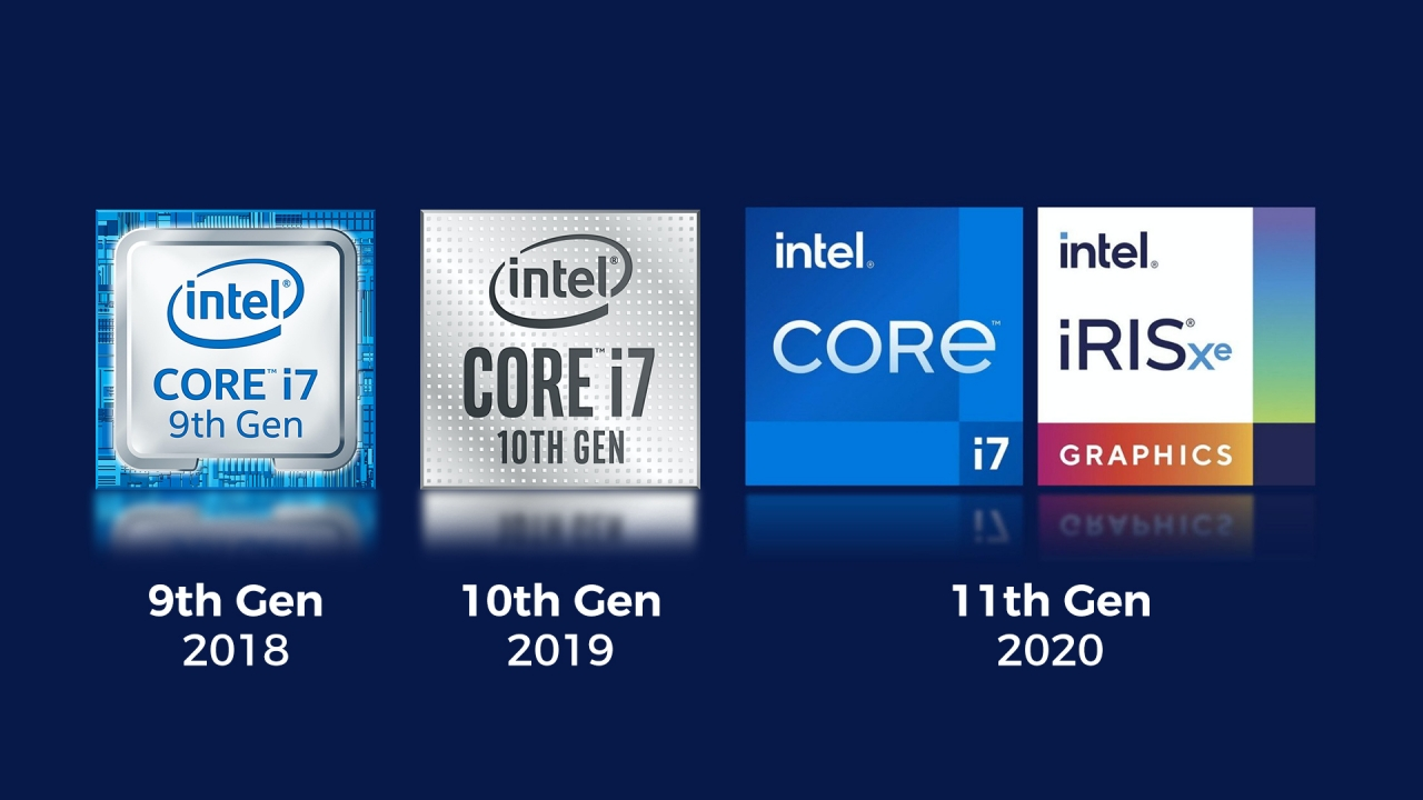 Intel announces 11th-Gen chips with new company branding