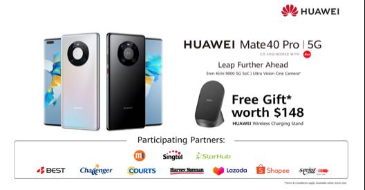 Huawei Mate 40 Pro Singapore