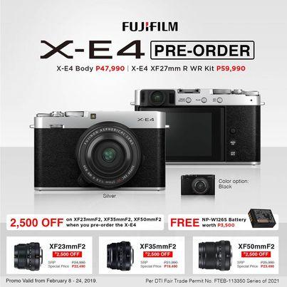 Fujjifilm X-E4
