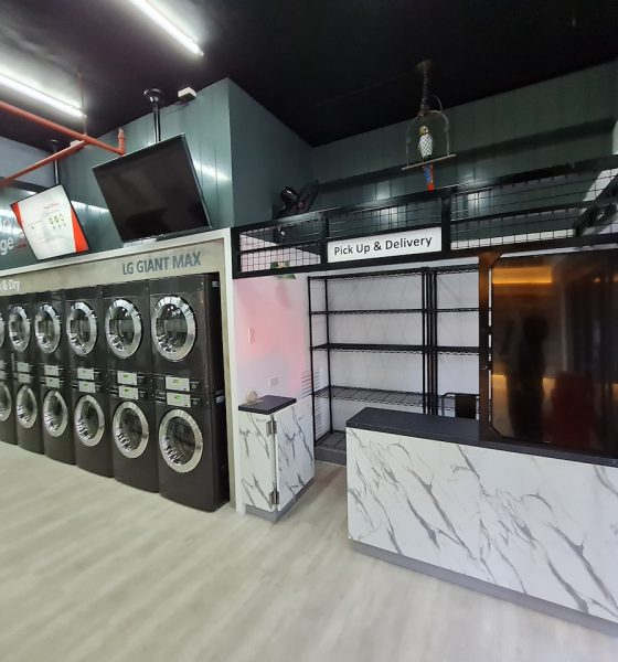 Smart Laundry Lounge